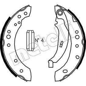 Renault Twingo 2 1.2 (CN0D) Bremsbacken METELLI 53-0513 (1.2 (CN0D) Benzin 2013 D7F 800)