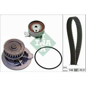 Водна помпа+ к-кт ангренажен ремък 530 0147 30 Astra F Caravan (T92) 1.6 (F08, C05) Г.П. 1998