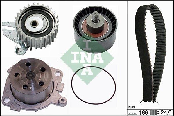 INA  530 0226 30 Wasserpumpe + Zahnriemensatz