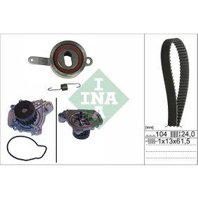 Honda CRX Targa 1.6 ESi (EH6) Wasserpumpe + Zahnriemensatz INA 530 0314 30 (1.6Si (EH6) Benzin 1996 D16Z6)