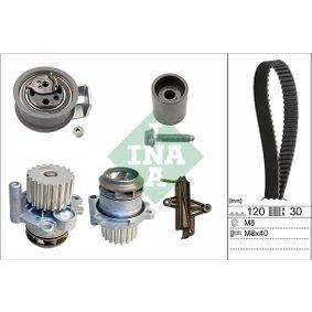 Wasserpumpe + Zahnriemensatz Breite: 30,00mm mit OEM-Nummer 045121011B
