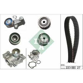 Wasserpumpe + Zahnriemensatz mit OEM-Nummer 13073-AA190