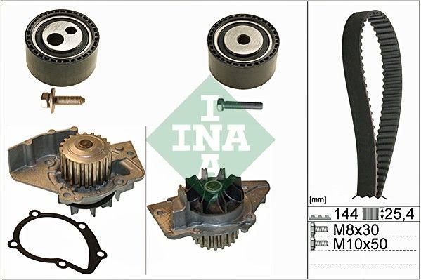 INA  530 0474 30 Water pump and timing belt kit