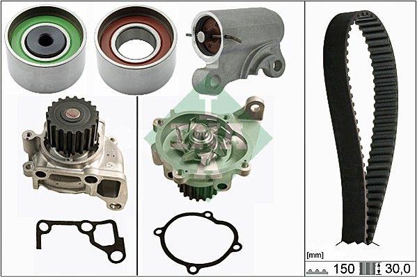 INA  530 0519 30 Water pump and timing belt kit