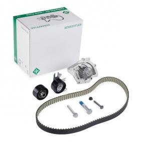 Water pump and timing belt kit with OEM Number 1855735