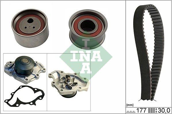INA  530 0566 30 Water pump and timing belt kit