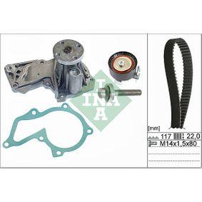 Wasserpumpe + Zahnriemensatz Breite: 22,00mm mit OEM-Nummer 96MM 6K288 A1A