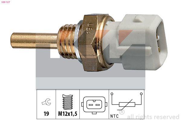 KW  530 127 Sensore, Temperatura refrigerante Apert. chiave: 19