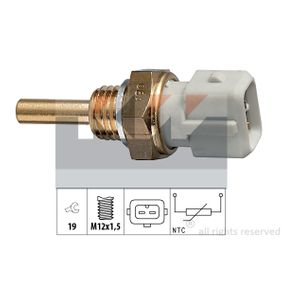 Sensore, Temperatura refrigerante Apert. chiave: 19 con OEM Numero 13621357414