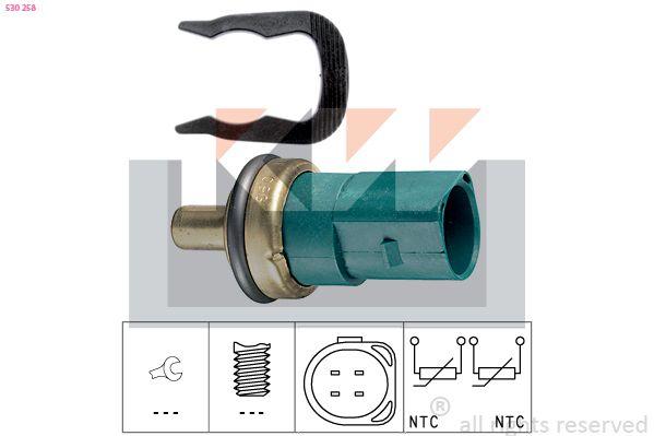 KW  530 258 Sensor, temperatura del refrigerante