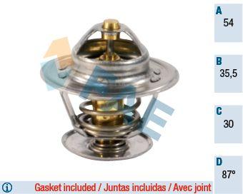 FAE  5303987 Thermostat, coolant