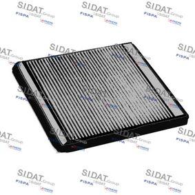 Filter, Innenraumluft Breite 1: 200mm mit OEM-Nummer 6447 SR