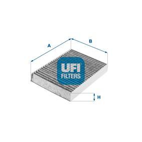 Filter, Innenraumluft Länge: 220,0mm, Breite: 158,0mm, Höhe: 30,0mm mit OEM-Nummer 71775 824