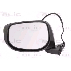 BLIC Side view mirror Left, Electric, Convex, Primed