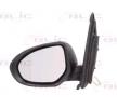 Offside wing mirror BLIC 9899982 Left, Electric, Aspherical, Primed
