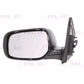 BLIC Side view mirror Left, Electric, Aspherical, Primed