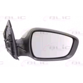 BLIC Side view mirror Right, Electric, Convex, Heated, Primed