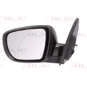 BLIC Side view mirror Left, Electric, Convex, Heated