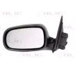 BLIC Specchio retrovisore SAAB Sx, elettrico, asferico, ribaltabile/ripiegabile elettricamente, riscaldato, con la prima mano