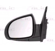 Offside wing mirror BLIC 9900553 Left, Electric, Convex, Heated, Primed