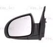 Espejo retrovisor BLIC 9900553 izquierda, eléctrico, convexo, térmico, imprimado