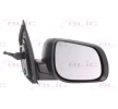 Offside wing mirror BLIC 9900556 Right, Mechanical, Convex