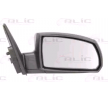 Offside wing mirror BLIC 9900574 Right, Electric, Convex, Heated