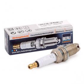 Spark Plug Electrode Gap: 1mm, Thread Size: M14x1,25 with OEM Number 003 159 7603