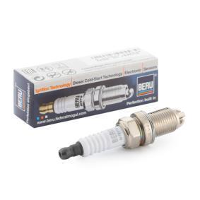 Запалителна свещ разст. м-ду електродите: 1мм, мярка на резбата: M14x1,25 с ОЕМ-номер JZW 905 603D