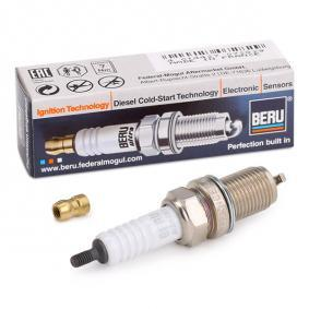 Spark Plug Electrode Gap: 0,7mm, Thread Size: M14x1,25 with OEM Number 101000065AA