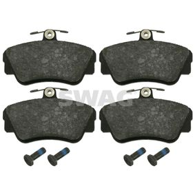 Brake Pad Set, disc brake Width: 67,5mm, Thickness 1: 17,2mm with OEM Number 3 344 787