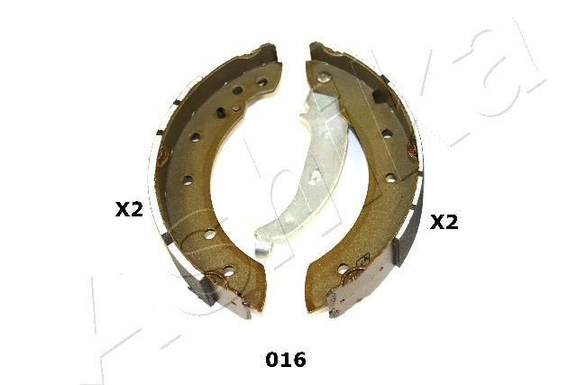 ASHIKA  55-00-016 Bremsbackensatz Breite: 38mm