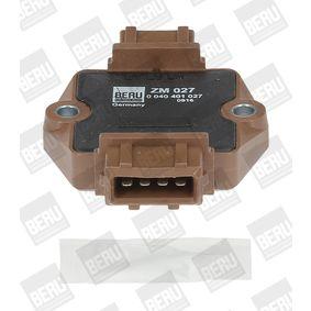 BERU Schaltgerät, Zündanlage 0040401027 für AUDI 80 (8C, B4) 2.8 quattro ab Baujahr 09.1991, 174 PS