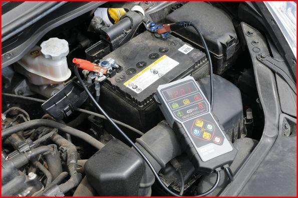 Batteritester KS TOOLS 550.1645 4042146579695