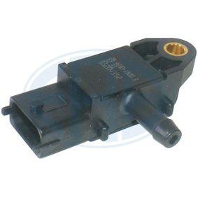 Sensore, Pressione gas scarico N° raccordi: 3 con OEM Numero 5179 2301