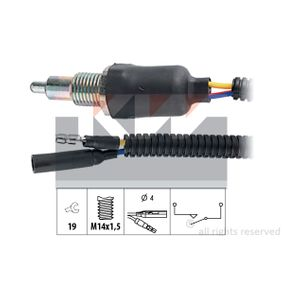 Включвател, светлини за движение на заден ход 560 093 25 Хечбек (RF) 2.0 iDT Г.П. 2001
