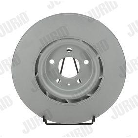 Brake Disc Brake Disc Thickness: 30mm, Num. of holes: 5, Ø: 345mm with OEM Number 8K0 615 301Q