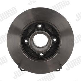 Bremsscheibe Bremsscheibendicke: 9mm, Lochanzahl: 4, Ø: 249mm mit OEM-Nummer 42 49 66