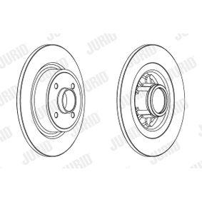 Bremsscheibe Bremsscheibendicke: 11mm, Lochanzahl: 4, Ø: 275mm mit OEM-Nummer 8660001815