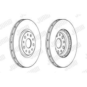 Bremsscheibe Bremsscheibendicke: 28mm, Lochanzahl: 5, Ø: 305mm mit OEM-Nummer 51 760 621