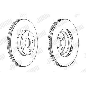 Disque de frein Epaisseur du disque de frein: 25mm, Nbre de trous: 5, Ø: 275mm avec OEM numéro 43512 20710