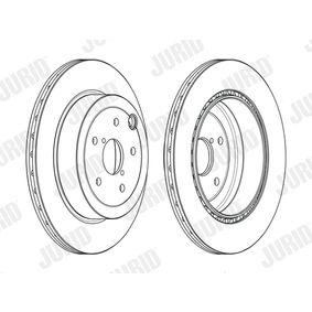 Bremsscheibe Bremsscheibendicke: 20mm, Lochanzahl: 5, Ø: 316mm mit OEM-Nummer 26700FG010