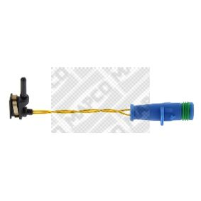 Warnkontakt, Bremsbelagverschleiß Warnkontaktlänge: 93mm mit OEM-Nummer 169 540 1617