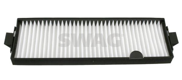SWAG  57 92 2467 Filter, Innenraumluft Länge: 433mm, Breite: 125,0mm, Höhe: 31mm