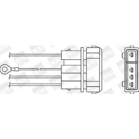 Lambdasonde Kabellänge: 490mm mit OEM-Nummer 030906265P