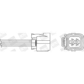 Lambdasonde Kabellänge: 325mm mit OEM-Nummer 36531P45G02
