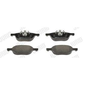 Bremsbelagsatz, Scheibenbremse Höhe 1: 67mm, Höhe 2: 62mm, Dicke/Stärke: 17,5mm mit OEM-Nummer CN152K021AA