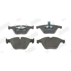 Brake Pad Set, disc brake 573210J 3 Saloon (E90) 335d 3.0 MY 2009