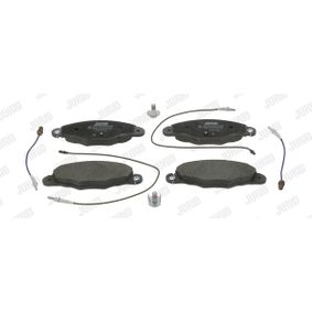 Bremsbelagsatz, Scheibenbremse Höhe 1: 73mm, Dicke/Stärke: 16,7mm mit OEM-Nummer 34116786044