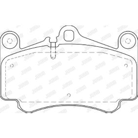 Bremsbelagsatz, Scheibenbremse Höhe 1: 89mm, Dicke/Stärke: 16,5mm mit OEM-Nummer 99635194910